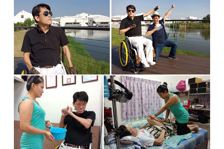 精彩的輪椅人生-林昭坤